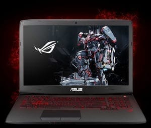 ASUS ROG Intel i7 2.50GHz 24GB,256GB SSD,4GB Laptop G751JY-DH71-0