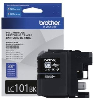 Brother Innobella™ Standard Yield Black Ink Cartridge - LC101BK-0