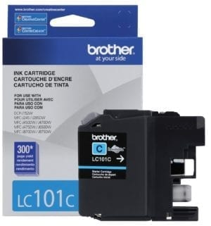 Brother Innobella™ Standard Yield Cyan Ink Cartridge - LC101C-0