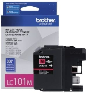 Brother Innobella™ Standard Yield Magenta Ink Cartridge - LC101M-0