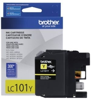 Brother Innobella™ Standard Yield Yellow Ink Cartridge - LC101Y-0