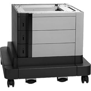 HP 2x500/1x1500-sheet Paper Feeder and Stand (CZ263A)-0